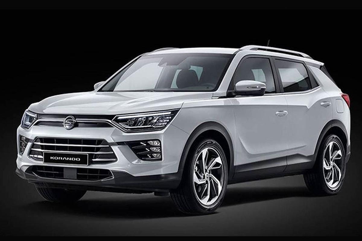 Chi tiet SsangYong Korando 2019 moi, doi thu cua Honda CR-V
