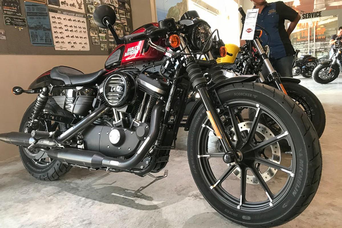 Dai gia MInh Nhua tau Harley-Davidson Iron 883