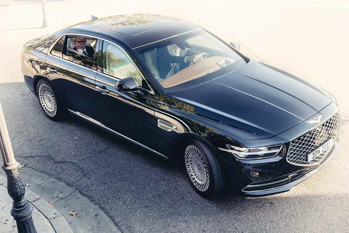 Xe sieu sang Genesis G90 Limousine