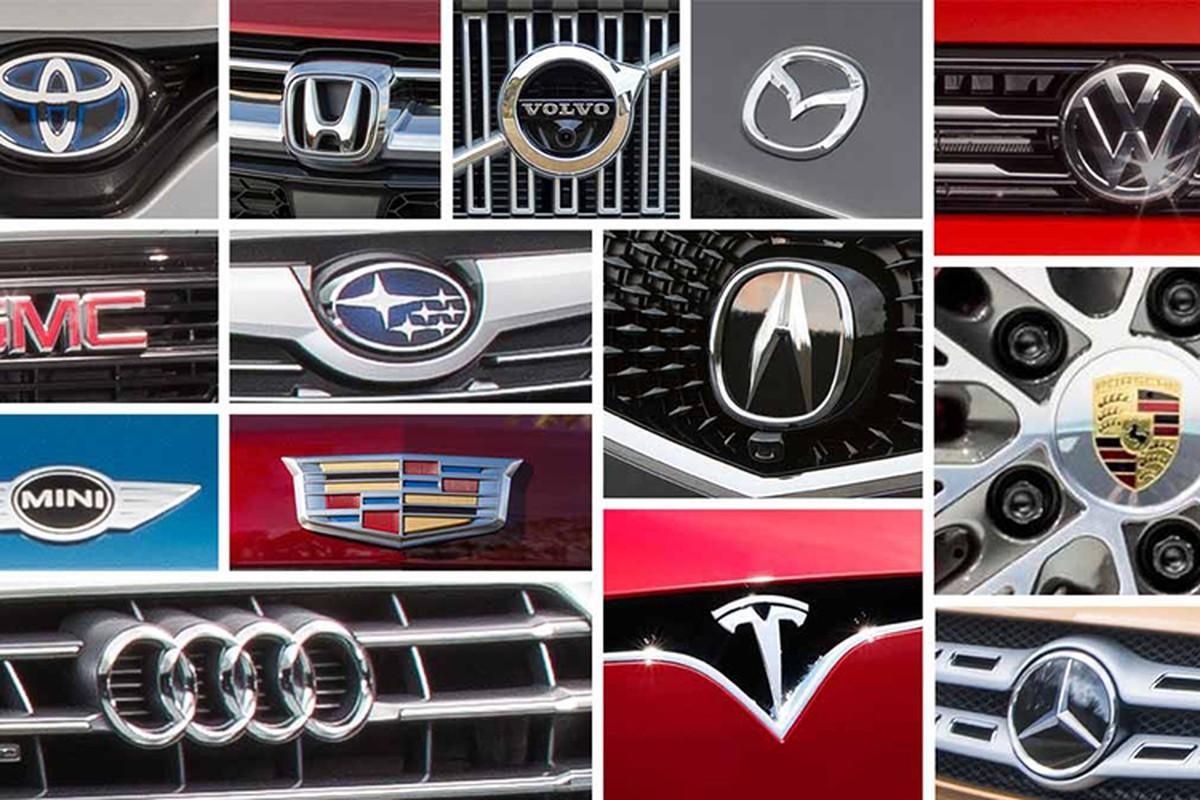 Top 10 mau xe oto dang tin cay nhat nam 2019