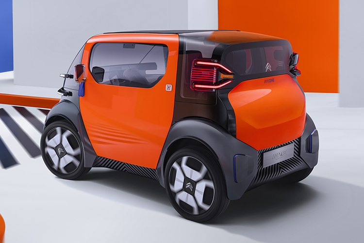 Ngam xe oto dien mini Citroen Ami One sieu an tuong-Hinh-2