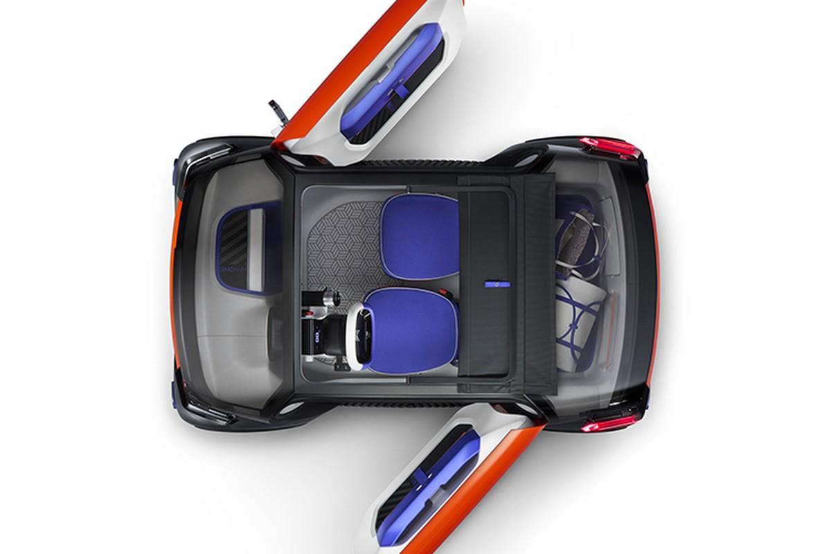 Ngam xe oto dien mini Citroen Ami One sieu an tuong-Hinh-5