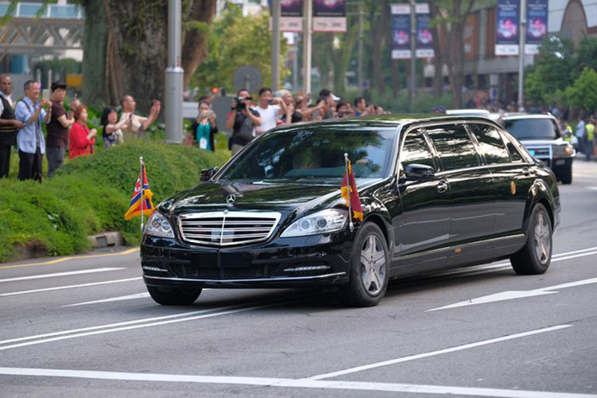 Mercedes-Benz S600 chong dan ho tong ong Kim Jong Un ve Ha Noi-Hinh-6