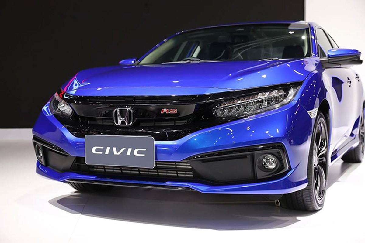 Honda Civic 2019 nhap Thai ve Viet Nam gia 903 trieu dong?
