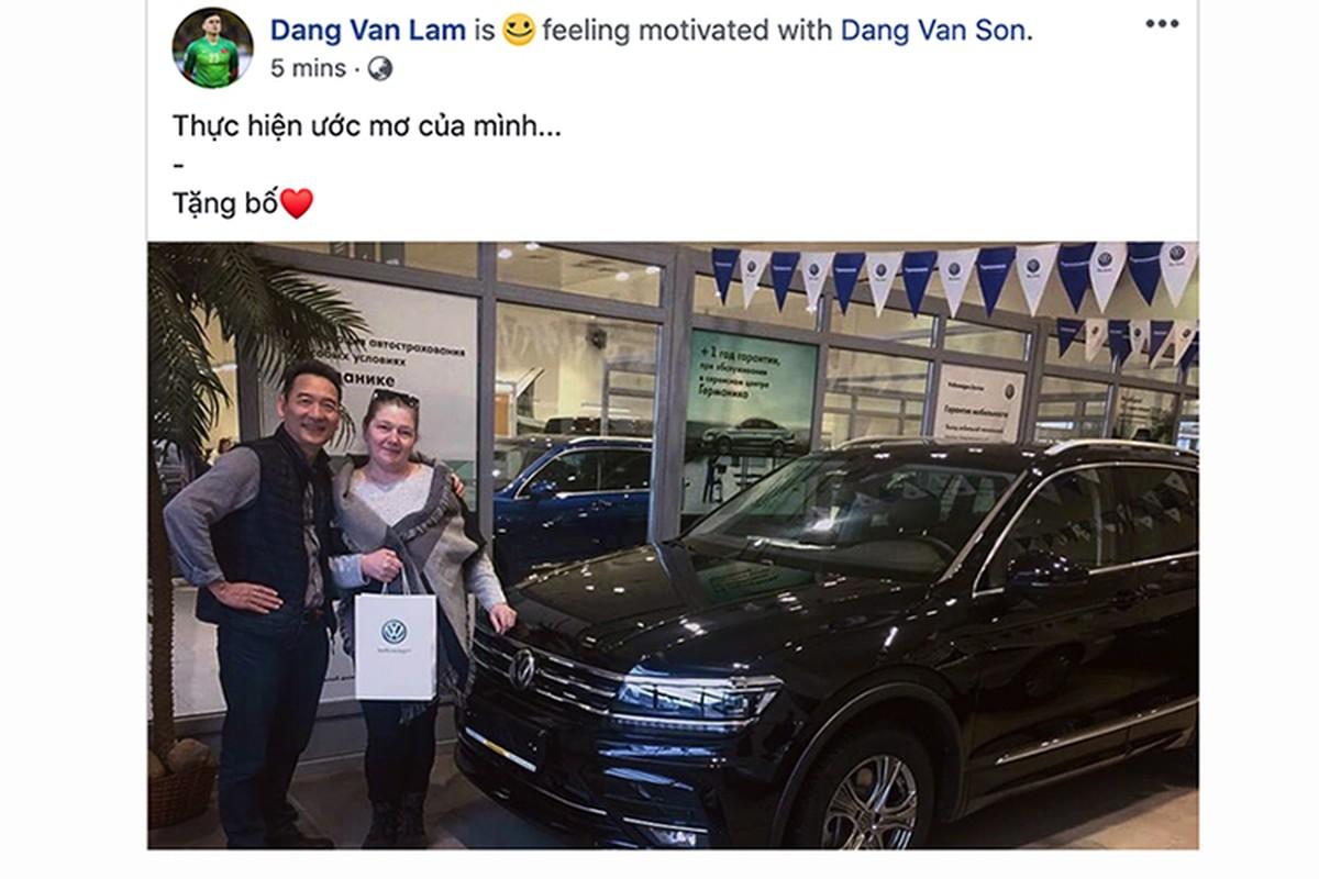 Thu mon Lam Tay mua xe Volkswagen Tiguan moi tang Bo