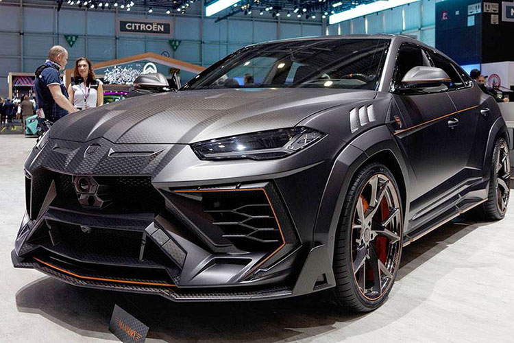 Lamborghini Urus Venatus doc nhat the gioi nho hang do Mansory
