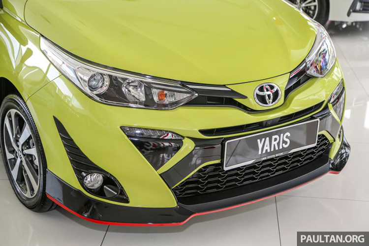 Can canh Toyota Yaris 2019 tai Malaysia gia tu 406 trieu dong-Hinh-3