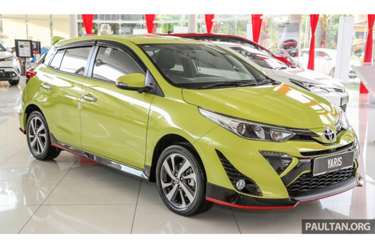 Can canh Toyota Yaris 2019 tai Malaysia gia tu 406 trieu dong