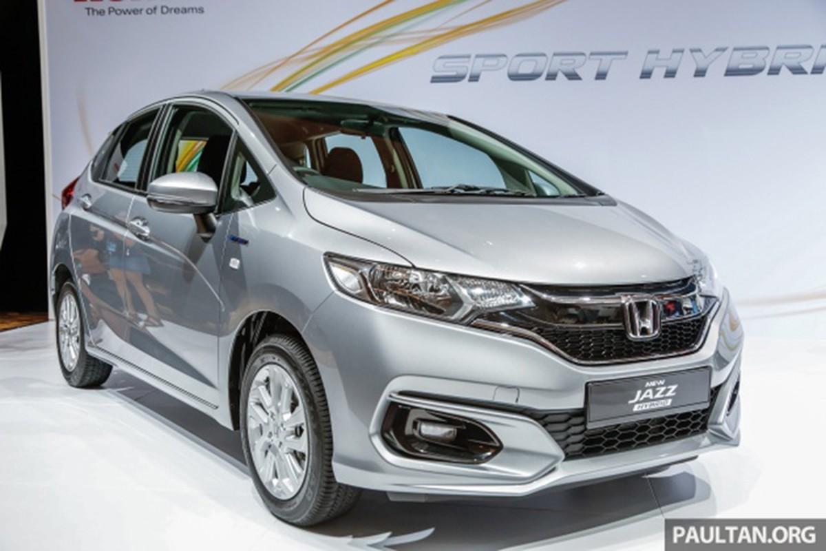 Honda Jazz 2020 moi sap trinh lang, them phien ban Hybrid