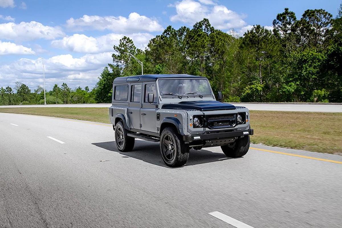 "Land Rover Defender do ""trai tim"" My, noi that nhu sieu xe Y-Hinh-8"