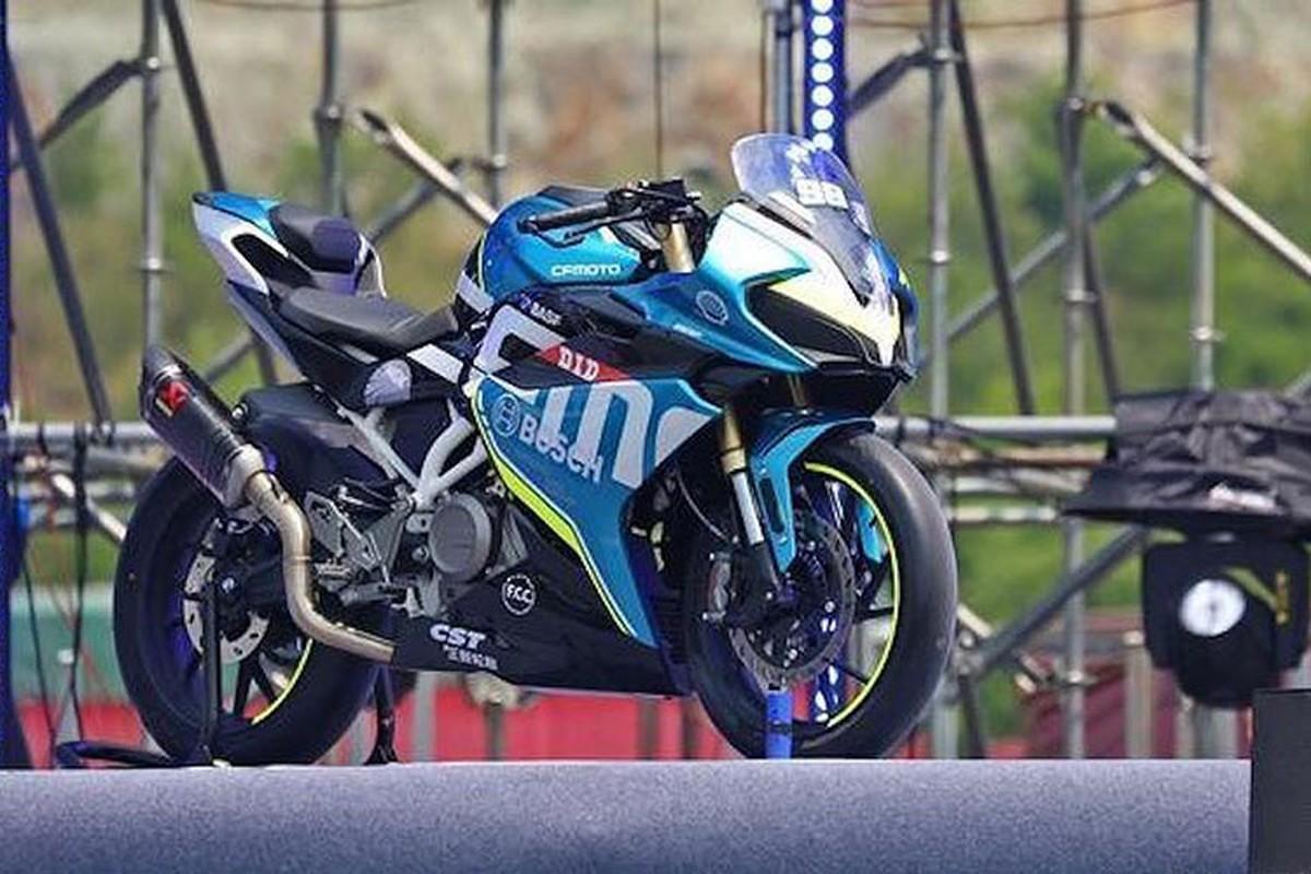 """Soi"" moto Trung Quoc gia re phong cach Ducati"