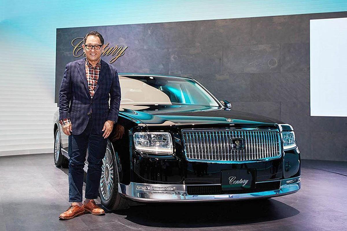 Toyota Century - xe sieu sang Rolls-Royce cua nguoi Nhat