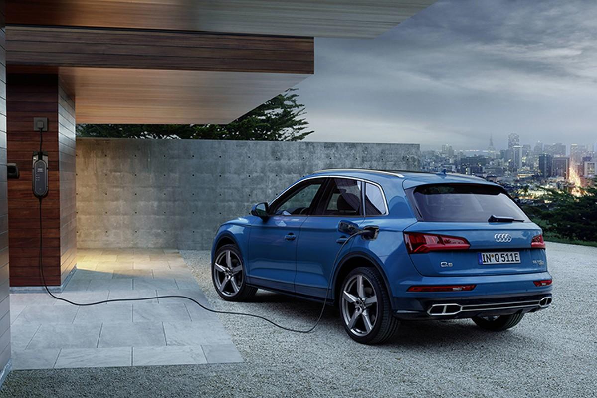 Audi Q5 hybrid chinh thuc trinh lang, gia tu 1,6 ty dong-Hinh-2