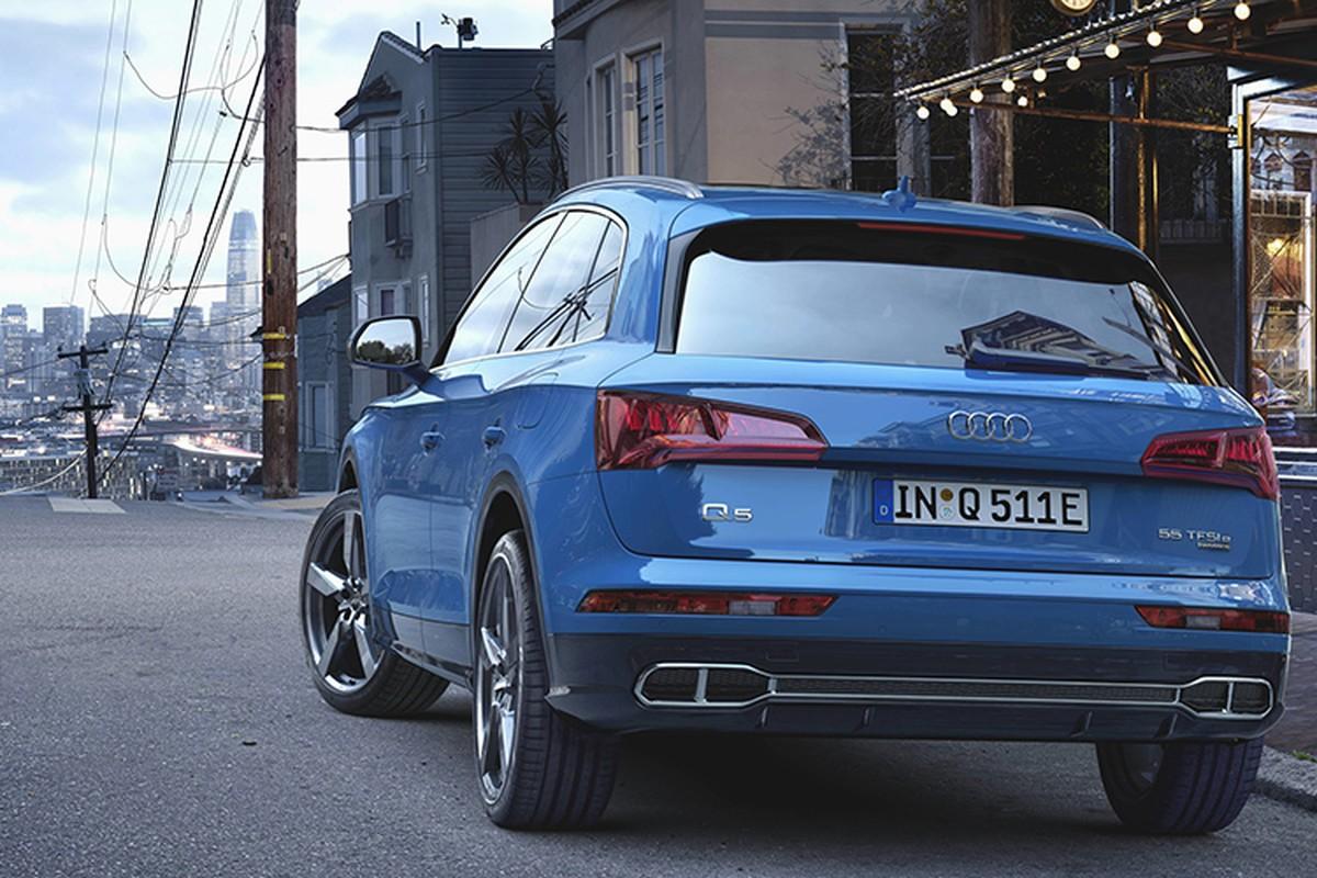 Audi Q5 hybrid chinh thuc trinh lang, gia tu 1,6 ty dong-Hinh-4
