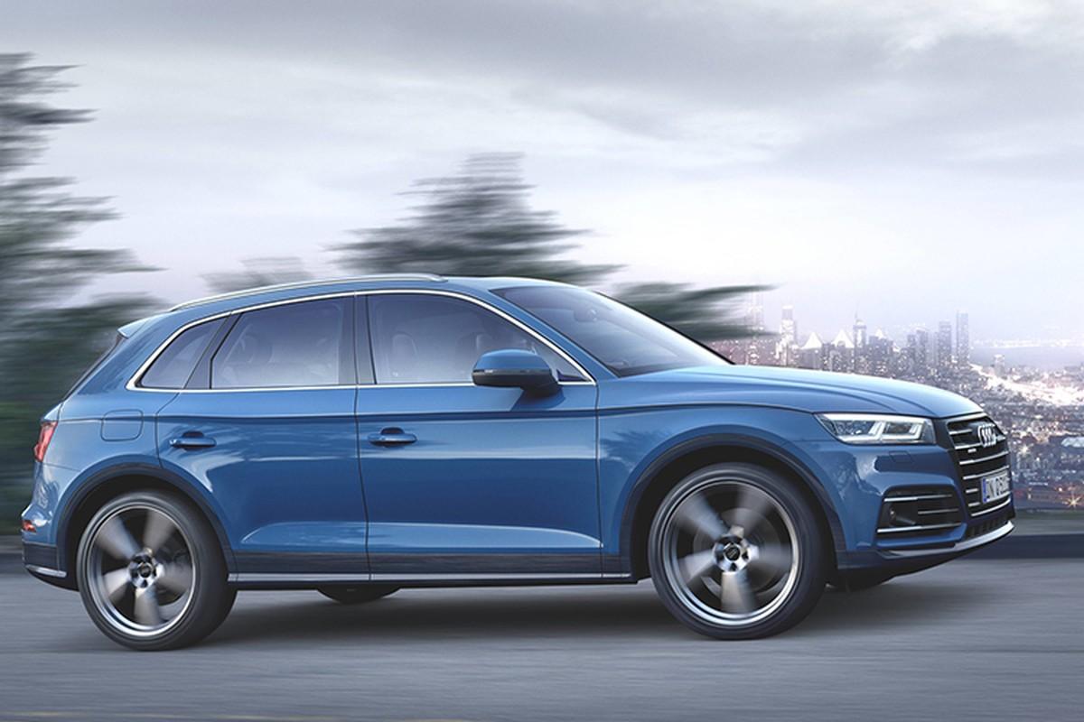 Audi Q5 hybrid chinh thuc trinh lang, gia tu 1,6 ty dong-Hinh-7