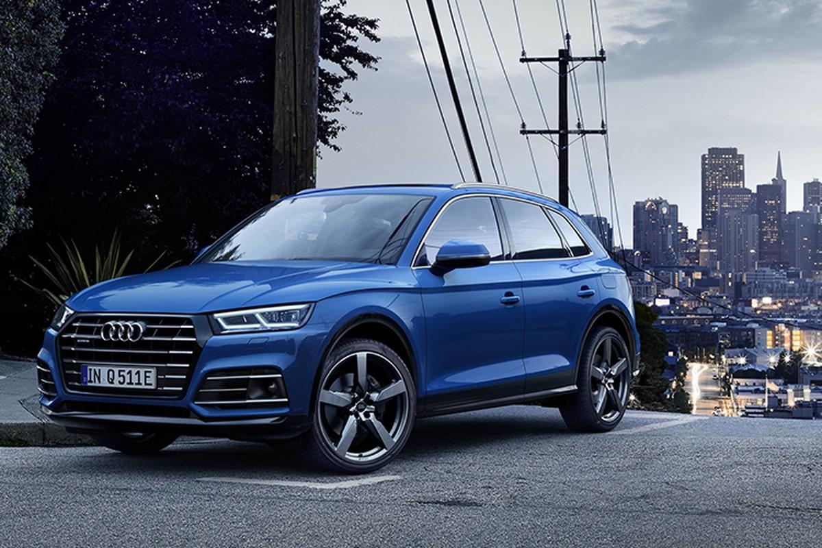 Audi Q5 hybrid chinh thuc trinh lang, gia tu 1,6 ty dong
