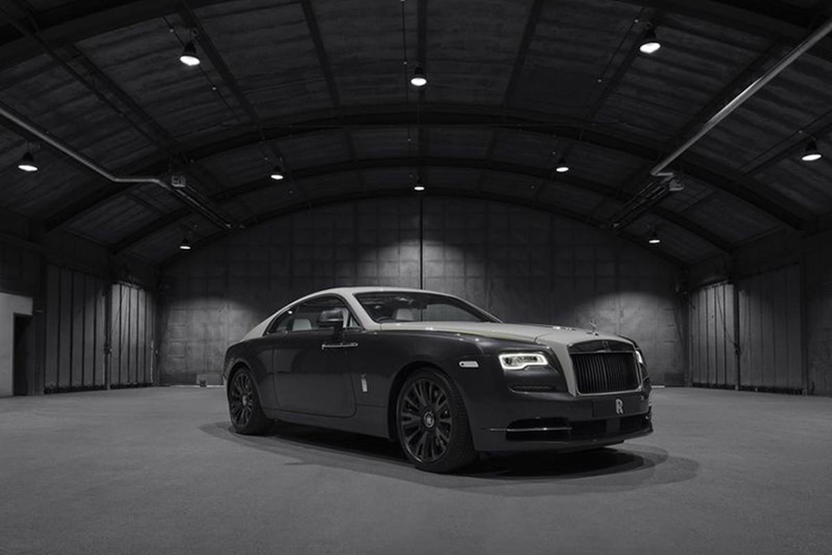 Xe sieu sang Rolls-Royce Wraith Eagle VIII tuy bien cuc xa hoa