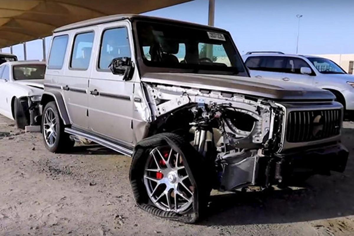 Sieu xe, xe sang dat tien vut bo nhu rac o UAE-Hinh-5