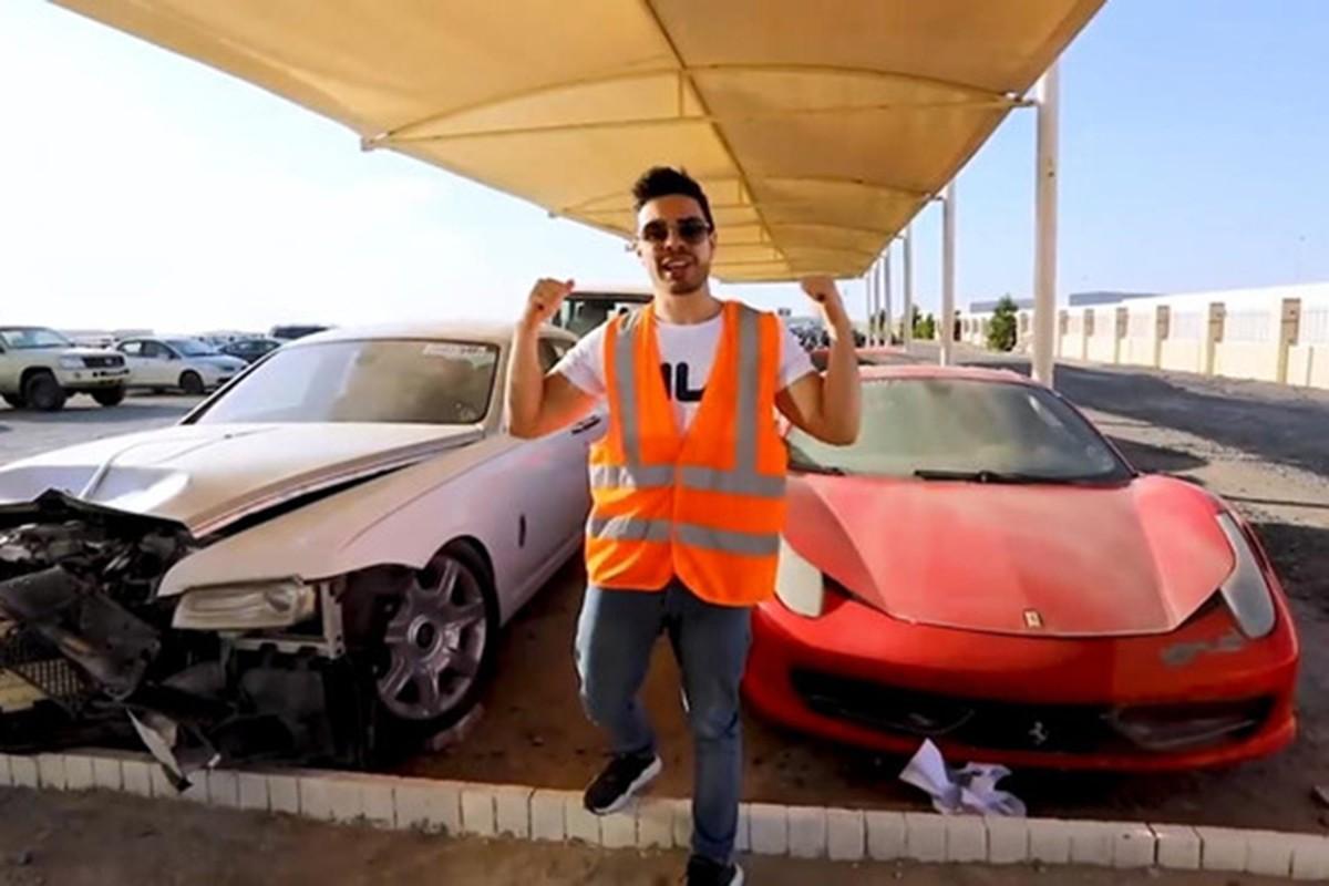 Sieu xe, xe sang dat tien vut bo nhu rac o UAE-Hinh-6
