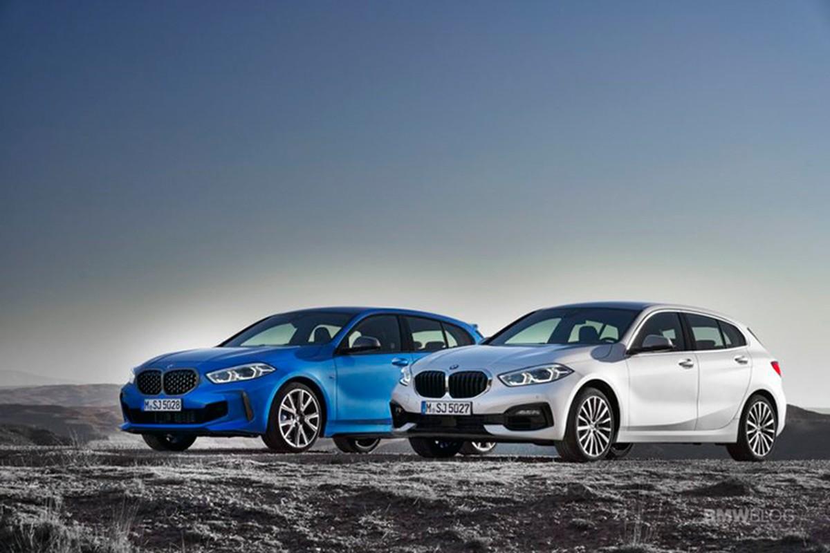 BMW 1 Series gia re moi, chat khong kem dan anh X2