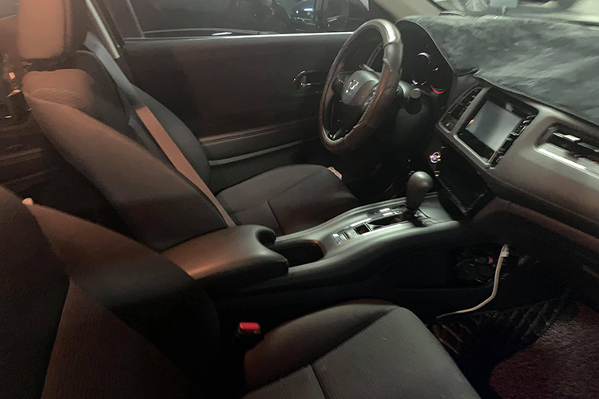 Xe gia re Honda HRV 2019 xuat hien tai Sai Gon-Hinh-3