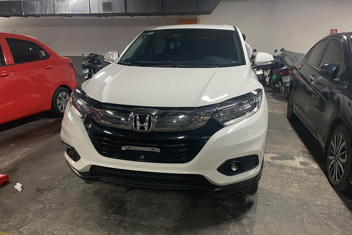 Xe gia re Honda HRV 2019 xuat hien tai Sai Gon