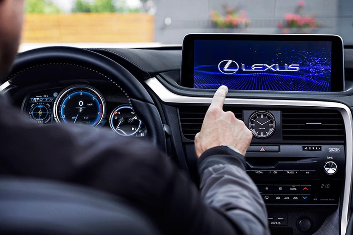 Crossover Lexus RX 2020 moi, manh me va an toan hon-Hinh-6