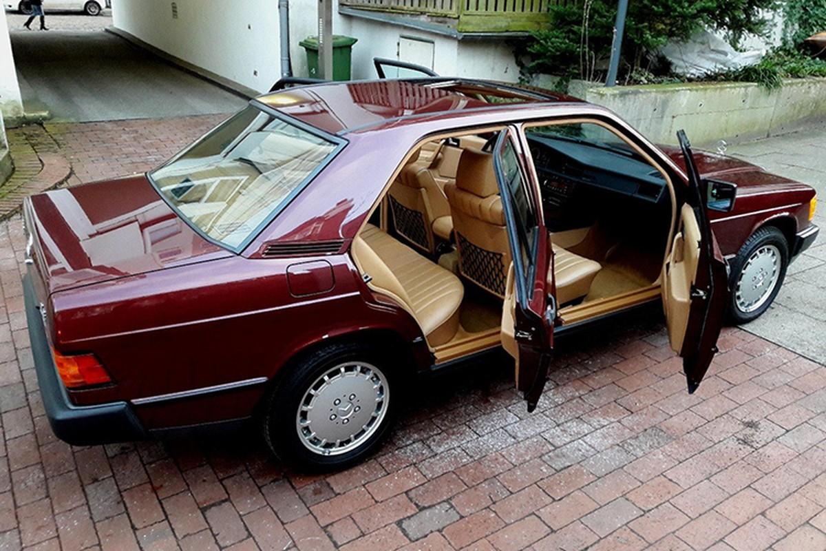 Mercedes-Benz 190E sau 30 nam ban 1,3 ty dong-Hinh-5