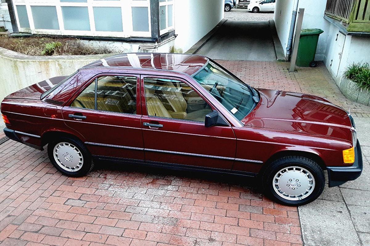 Mercedes-Benz 190E sau 30 nam ban 1,3 ty dong-Hinh-9
