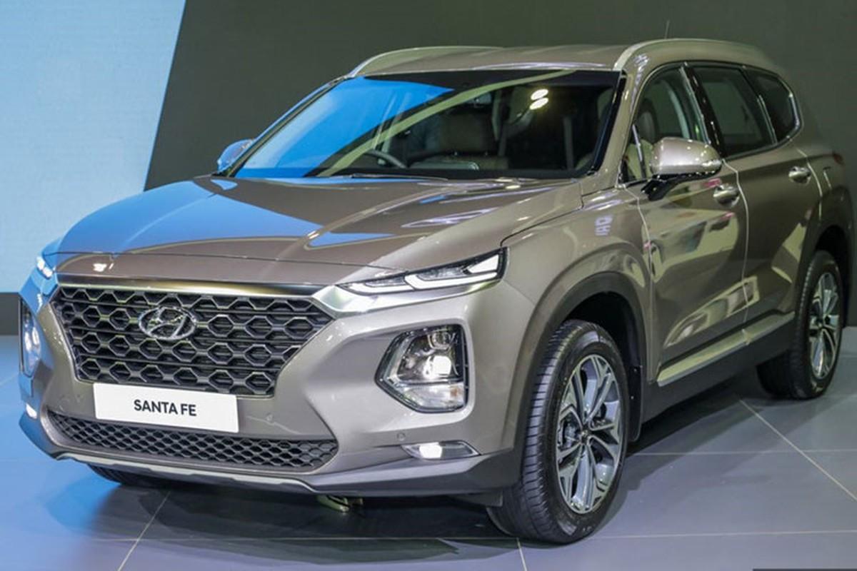 Hyundai SantaFe TM moi gia re tai Malaysia