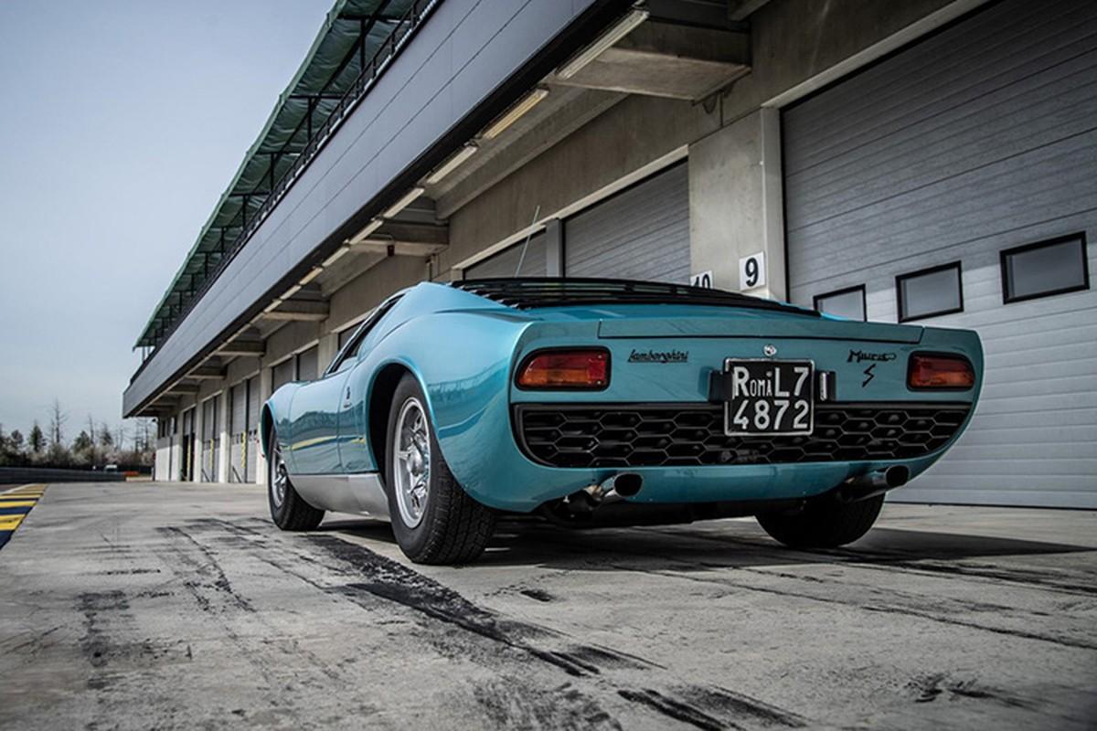 Hoi sinh sieu xe Lamborghini Miura doi 1971 dep nhu moi-Hinh-4