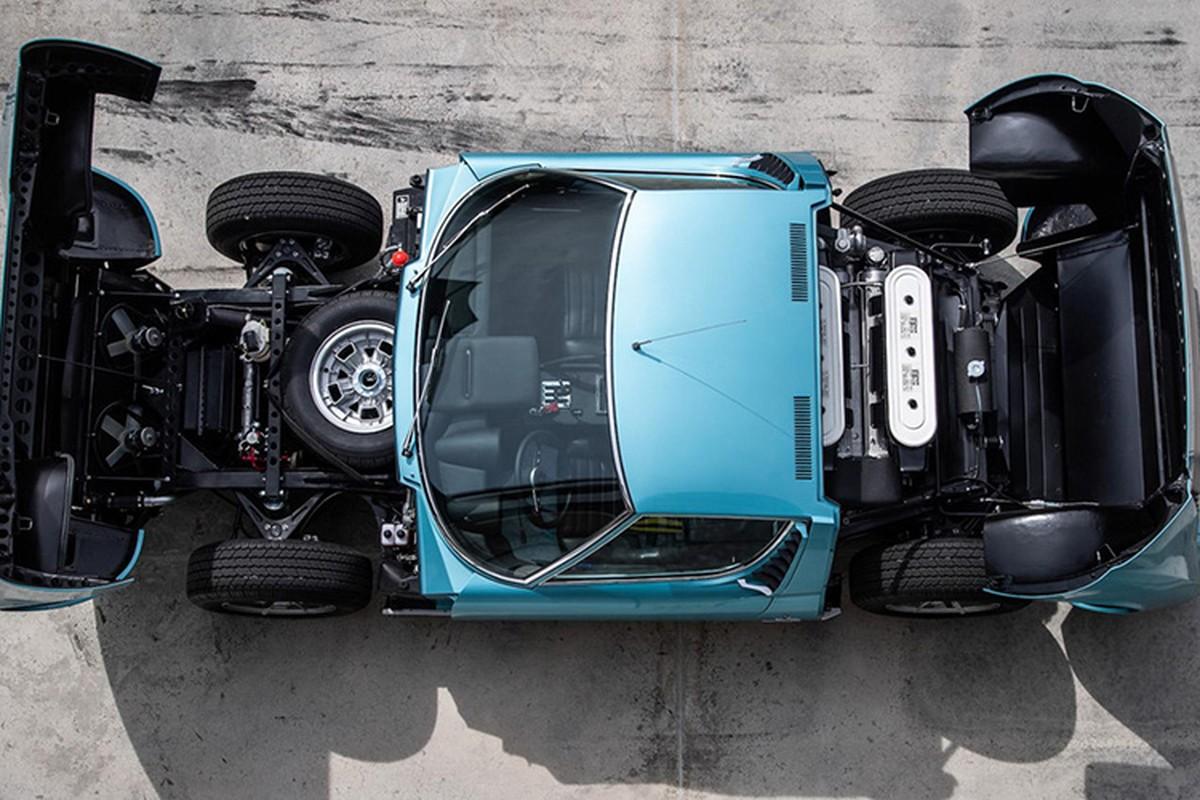 Hoi sinh sieu xe Lamborghini Miura doi 1971 dep nhu moi-Hinh-6