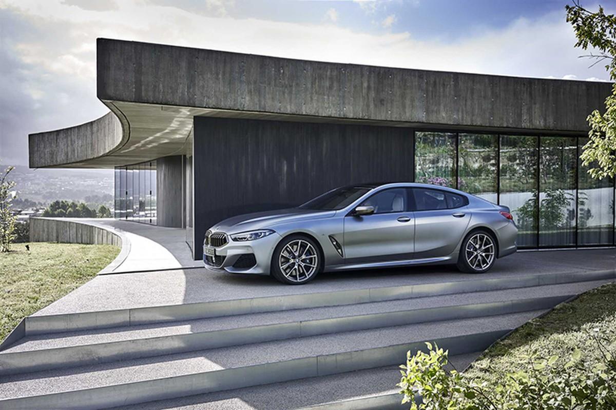 BMW 8 Series Gran Coupe moi ban ra tu gan 2 ty dong