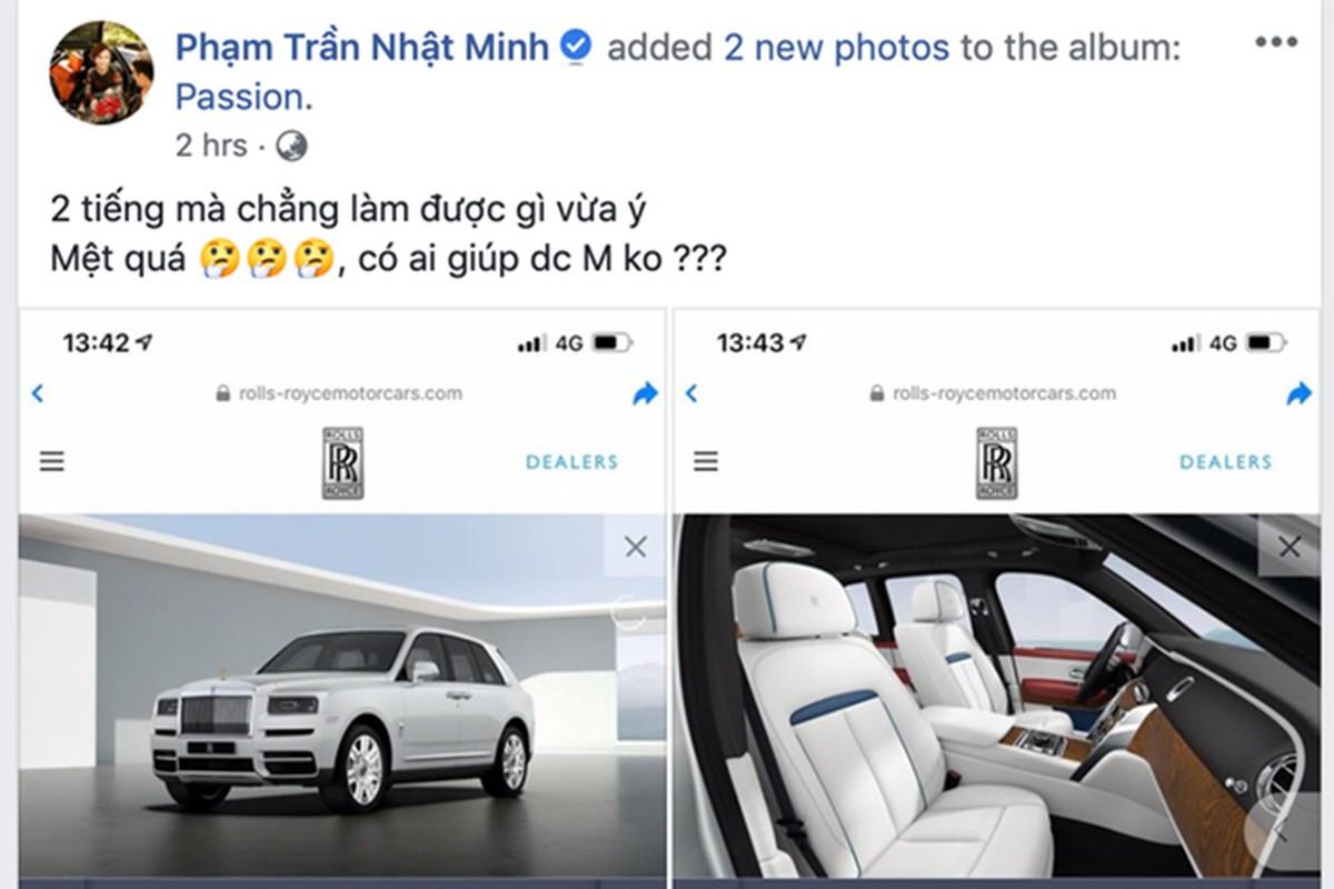 Minh Nhua dau dau chon mau Rolls-Royce hon 41 ty