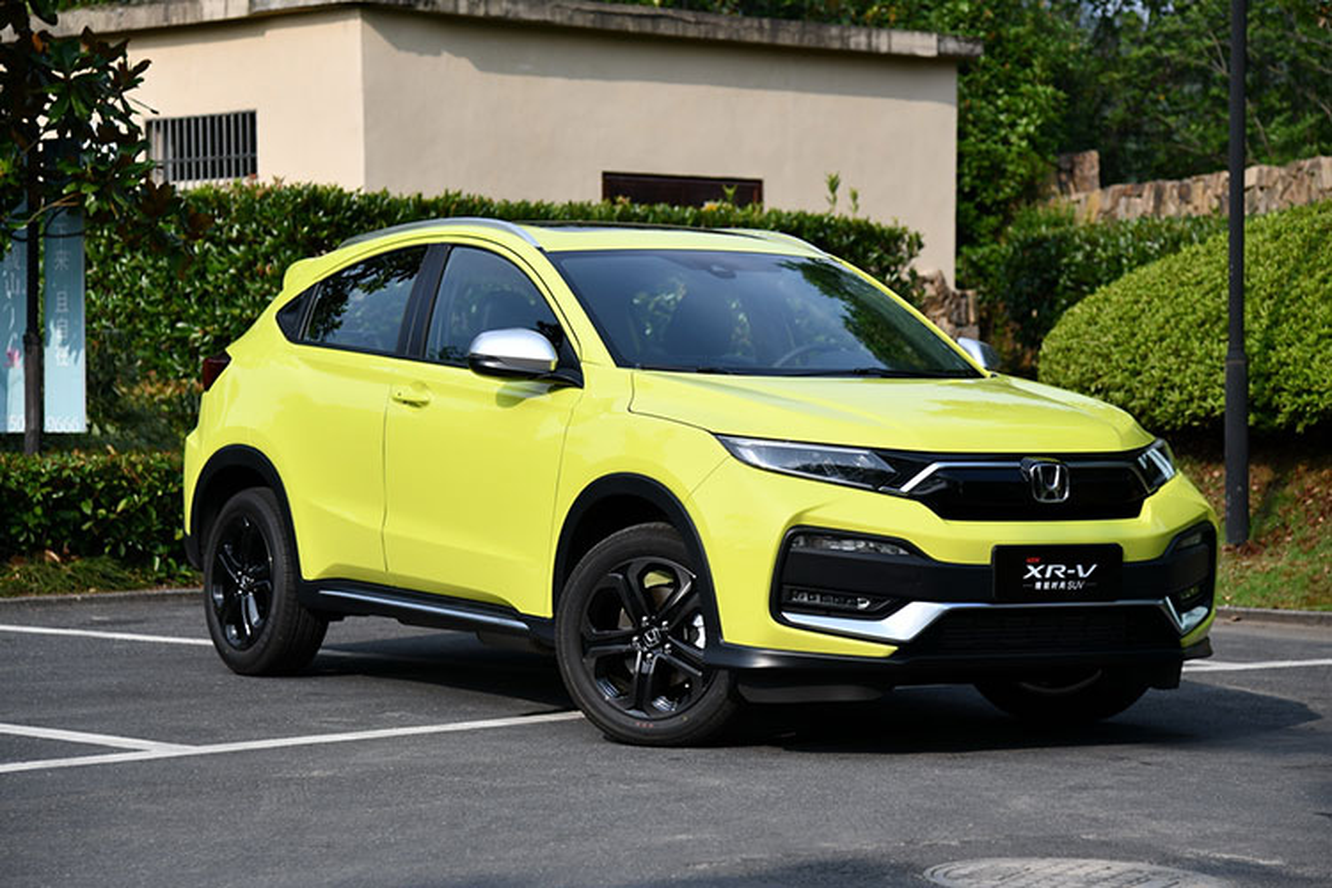 Chi tiet Honda XR-V 2019 danh rieng cho dan Trung Quoc