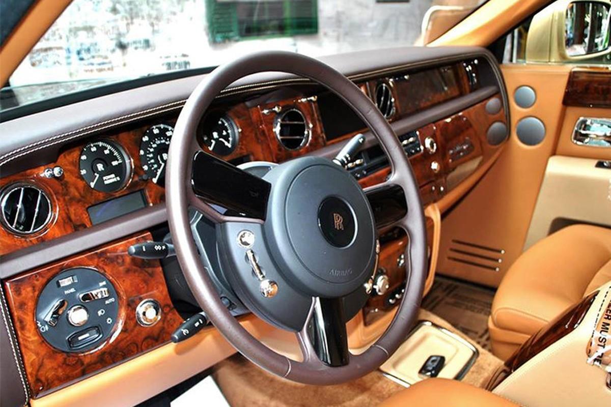 Rolls-Royce Phantom ma vang bien