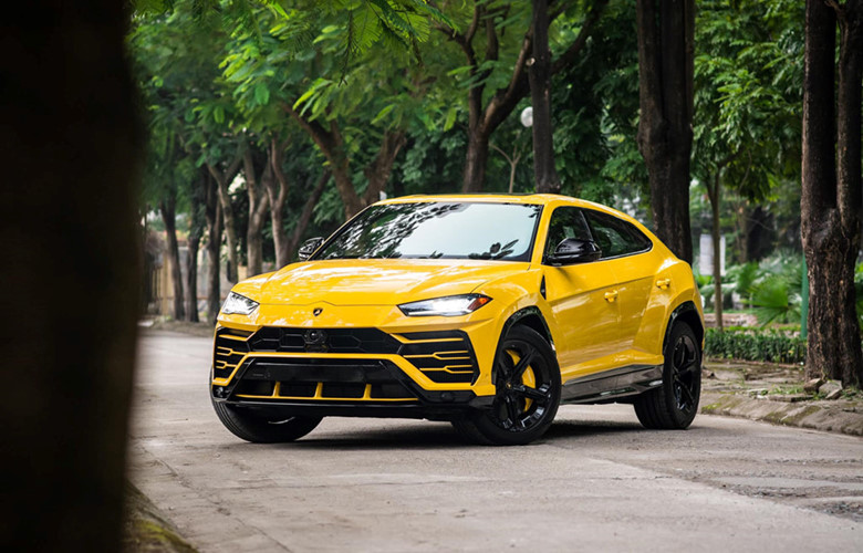 Sieu SUV Lamborghini Urus