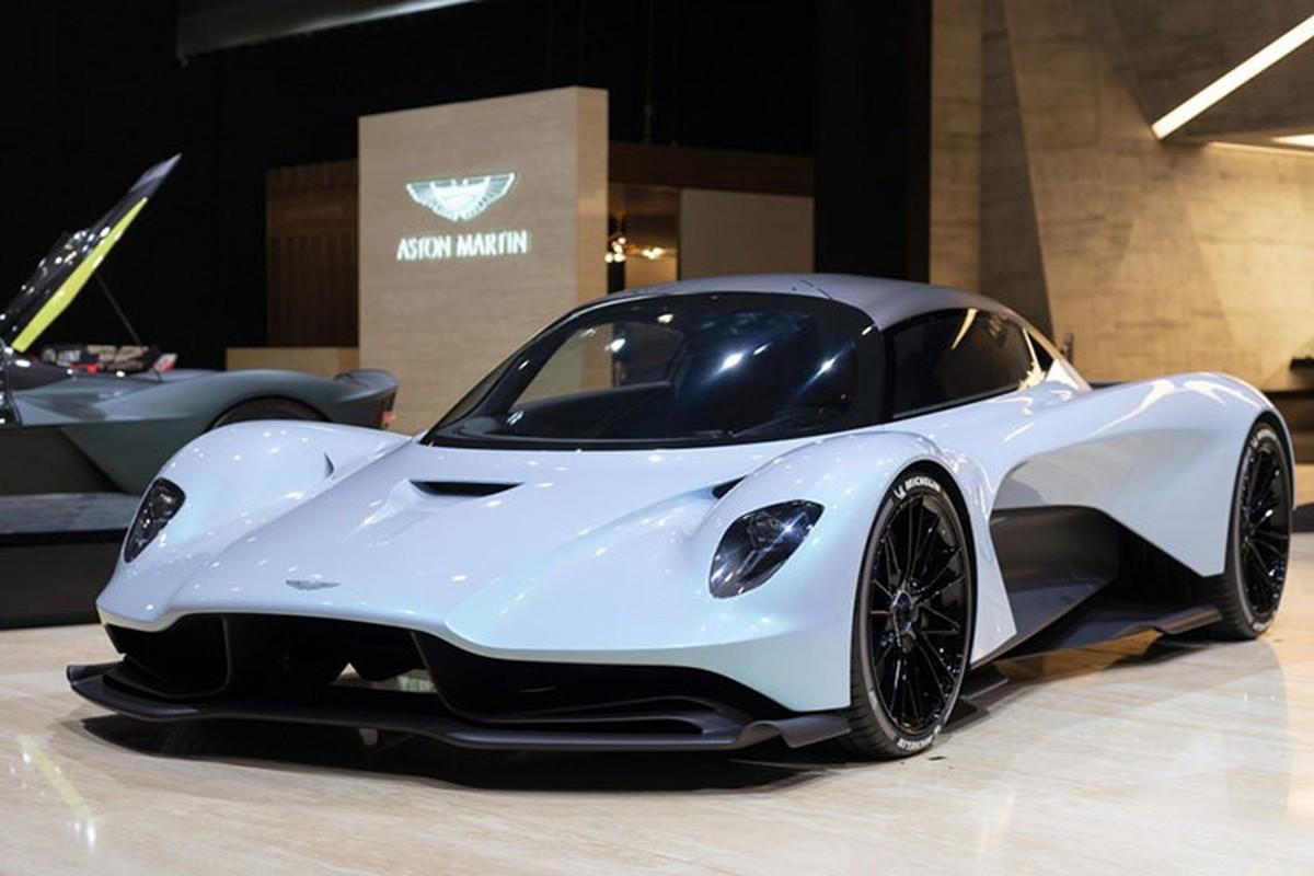 Diep vien 007 se cam lai Aston Martin Valhalla 1,9 trieu USD