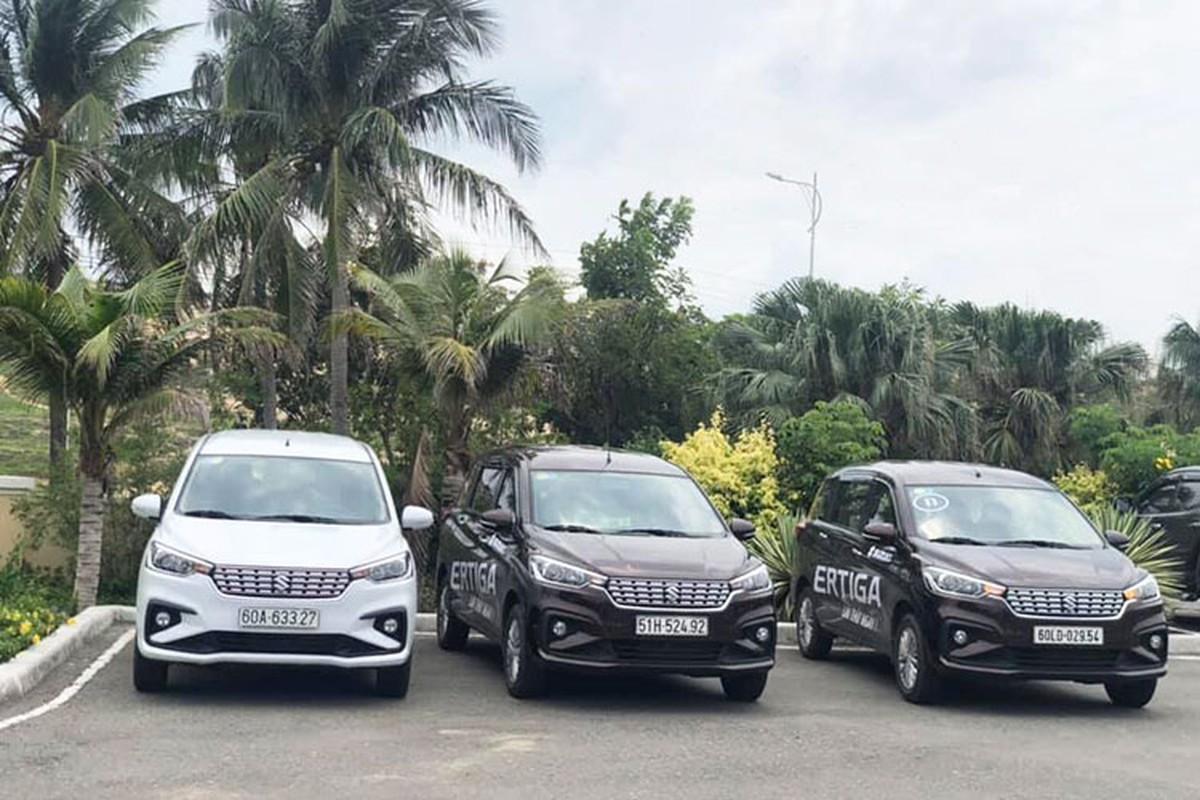 Suzuki Ertiga 2019 sieu re tai Viet Nam nho thieu trang bi