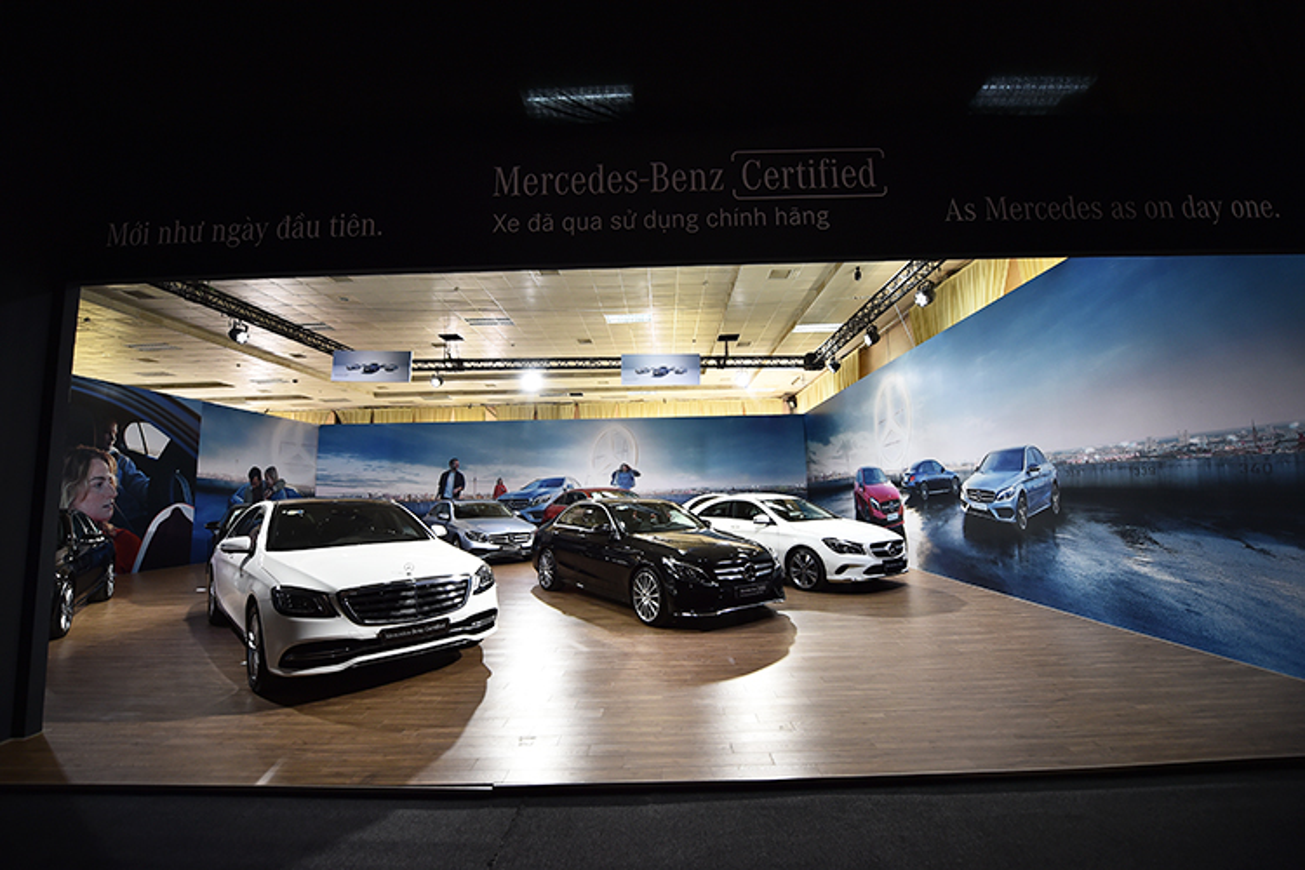 Ca dan xe sang Mercedes-Benz tien ty do bo ve Ha Noi-Hinh-11
