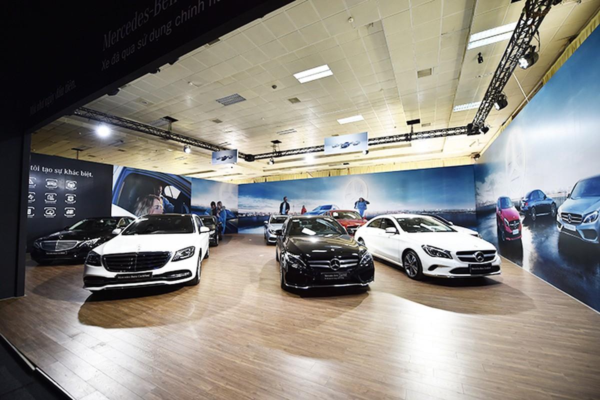 Ca dan xe sang Mercedes-Benz tien ty do bo ve Ha Noi-Hinh-12