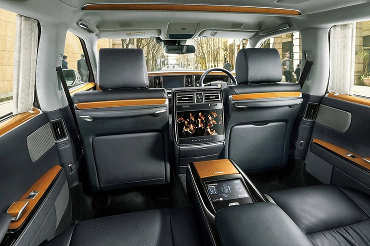 Mui tran Toyota Century Convertible danh rieng cho Nhat hoang-Hinh-6