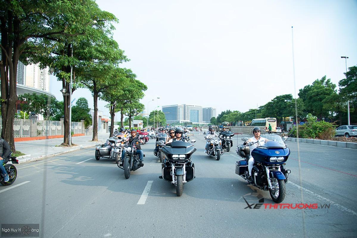 Dan choi xe khung tu hoi ngay sinh nhat moto Thanh Xuan