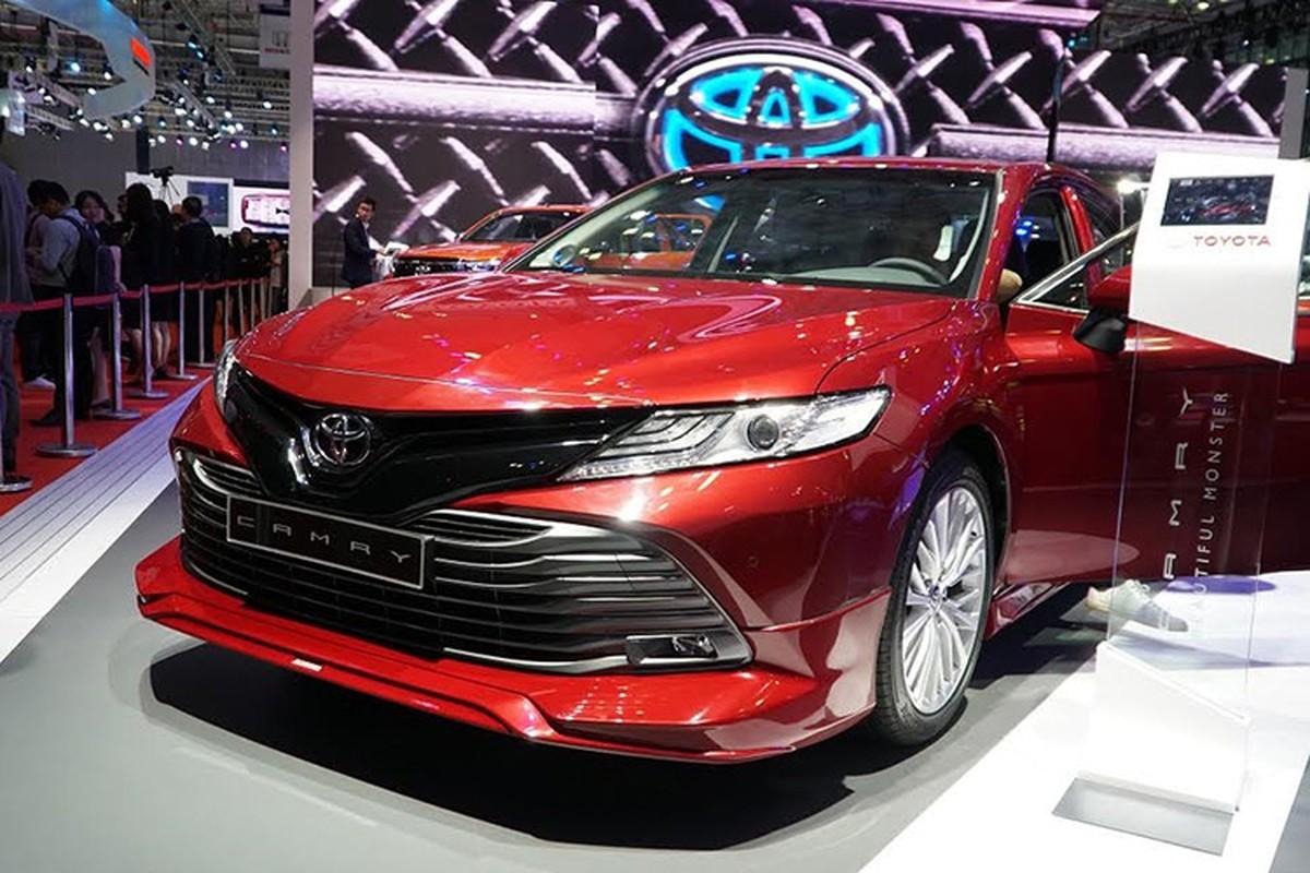 Toyota khong dem xe moi den Trien lam oto Viet Nam 2019-Hinh-3