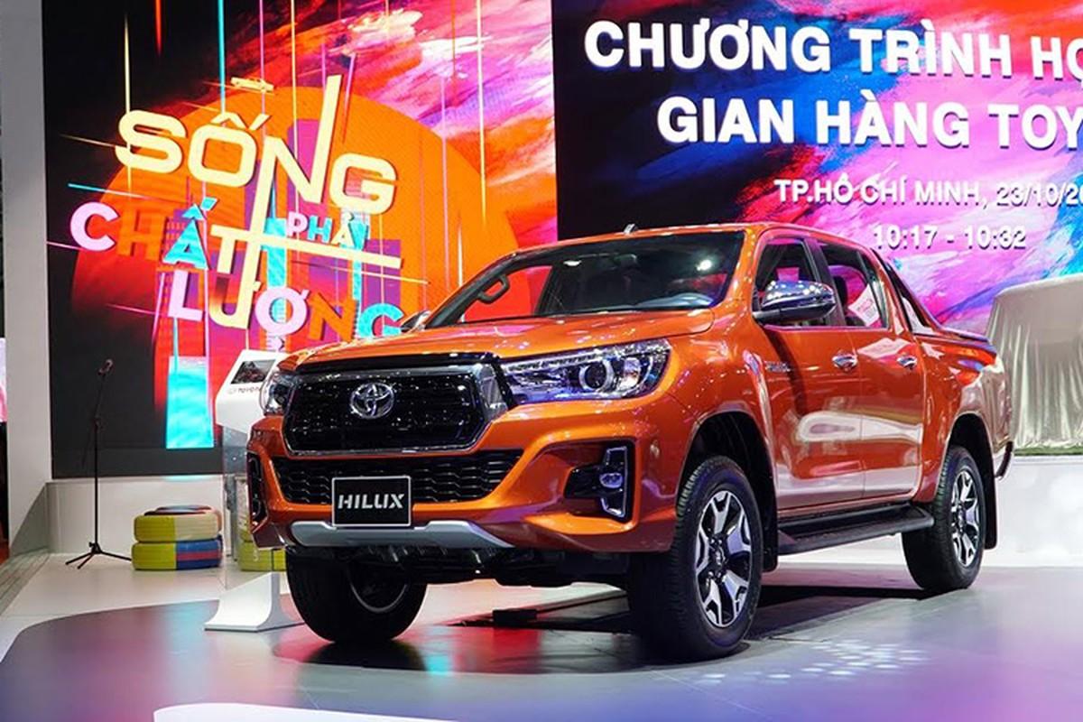 Toyota khong dem xe moi den Trien lam oto Viet Nam 2019-Hinh-5