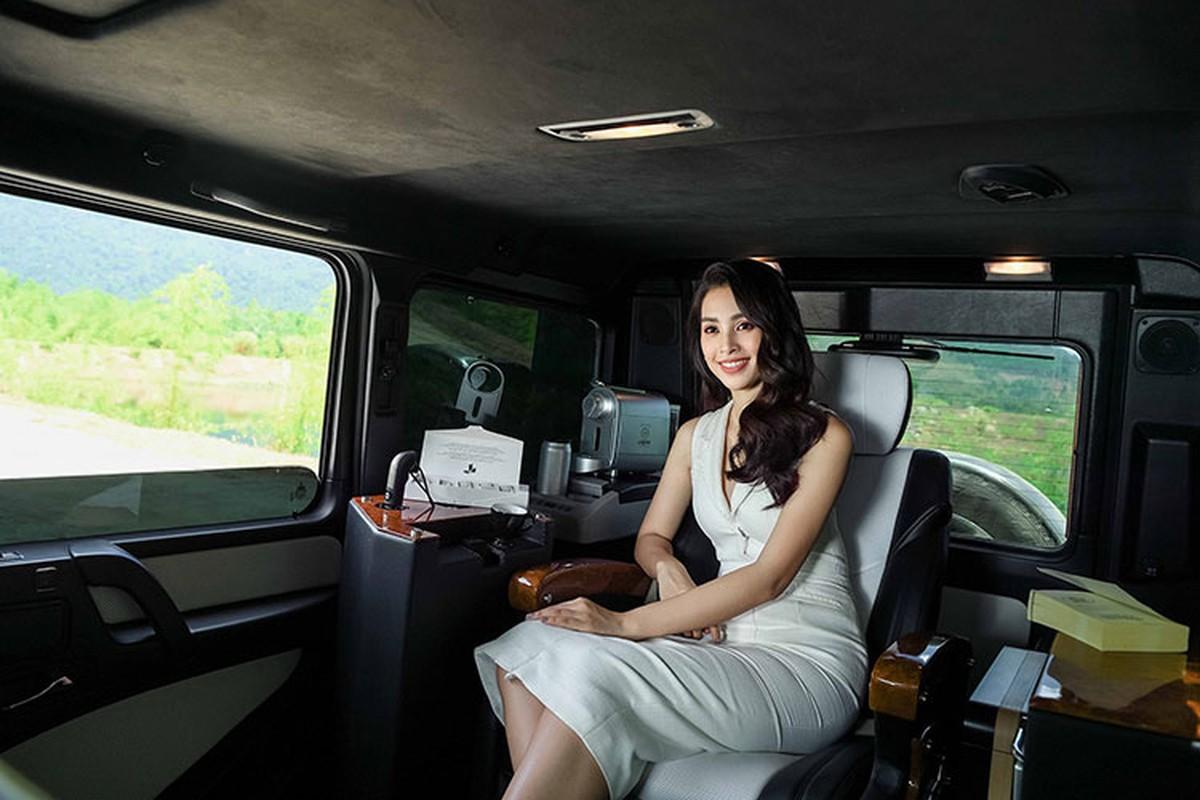 Hoa hau Tieu Vy do dang Mercedes G63 cua Dang Le Nguyen Vu-Hinh-5