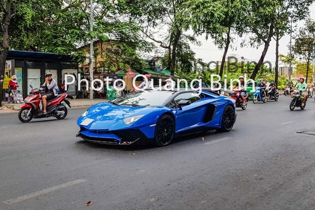 Xe Lamborghini Aventador SV Roadster gan 40 ty tai Viet Nam-Hinh-8