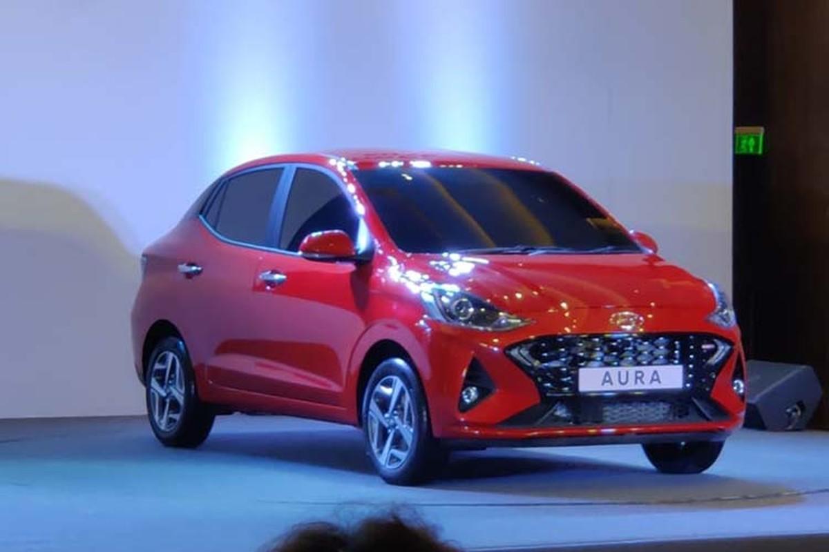 Xe gia re Hyundai Aura 2020 chinh thuc trinh lang