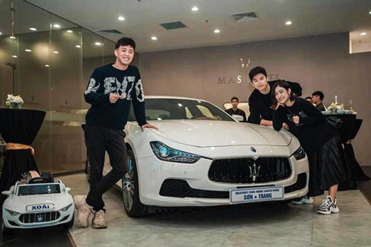 Vo chong Trang Lou sam Maserati Ghibli gan 5 ty dong-Hinh-3