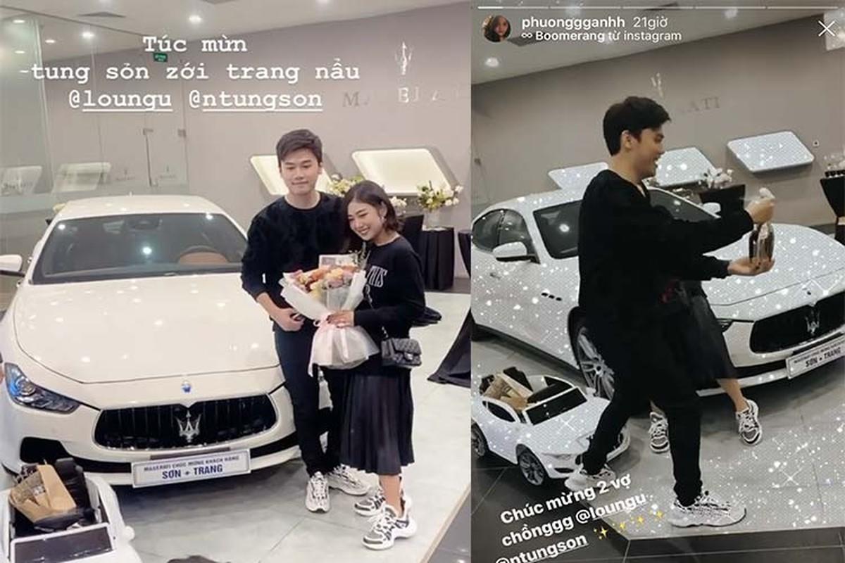 Vo chong Trang Lou sam Maserati Ghibli gan 5 ty dong-Hinh-4